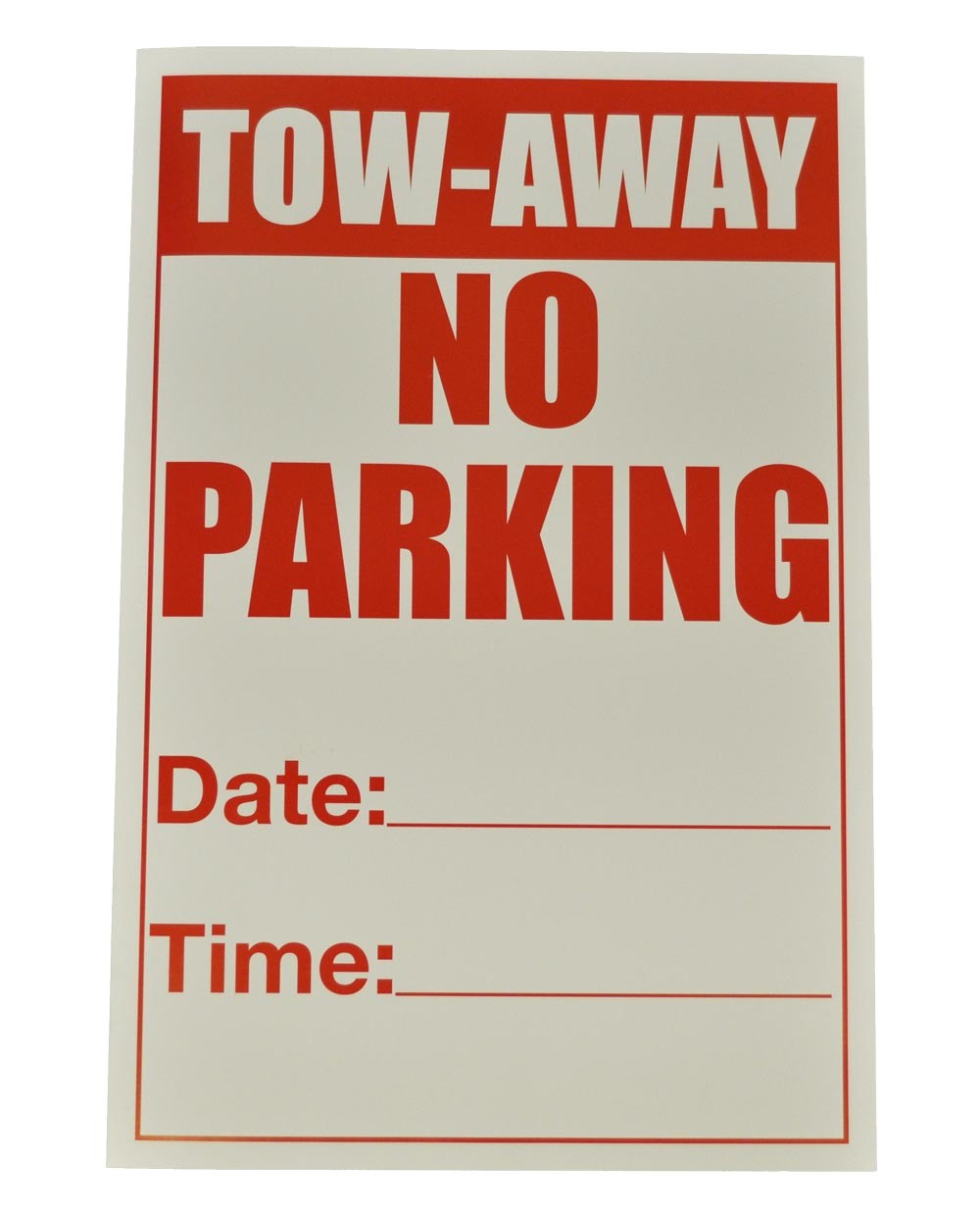 graphic about Printable No Parking Sign named Short-term No Parking Indicator