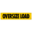 "12"" x 72"" Oversize Load Banner"