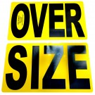 2-piece Magnetic Oversize Load Sign