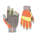 CLC Flex Grip Hi-Visibility Work Gloves